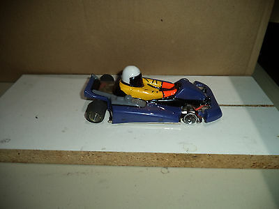 Go-Kart With Champion 1/24 Turbo Flex chassis 16D Motor