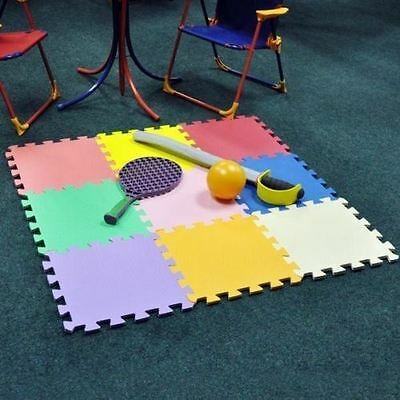 9pc Kids Foam Activity Play Mat Set Tiles Floor Interlocking