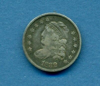 1832 Capped Bust Half Dime Nice