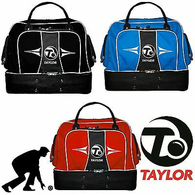Thomas Taylor Lawn Bowls Midi Bag Sports Gym Holdall Waterproof Compartment