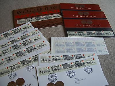 1984 The Royal Mail, collection of Presentation Packs, Covers & Mint Stamps