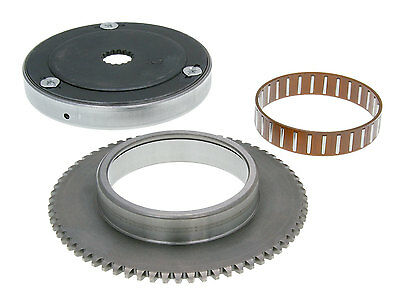 Starter Freewheel with Starter ring gear 16mm Dull for CPI Keeway