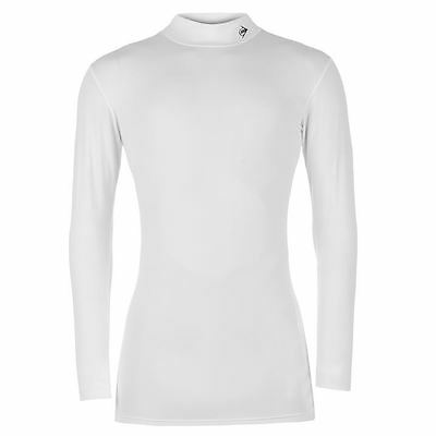 Dunlop Mens Pro Mock Shirt Golf Baselayer Tops Long Sleeve T-Shirt Tee Sports