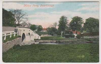 Cambridgeshire postcard - Milton Ferry, Peterborough