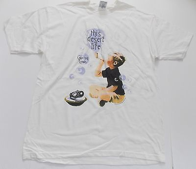 Counting Crows-NEW 1999 This Desert Life WHITE T Shirt-XLarge FREE SHIP TO U.S.!
