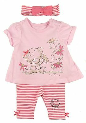 Baby Girls Outfit Leggings And T-shirt Set Me To You Tatty Teddy Bear TB - 9-12M