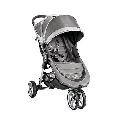 Baby Jogger 2016 City Mini Single Stroller - Steel Grey - New! Free Shipping!
