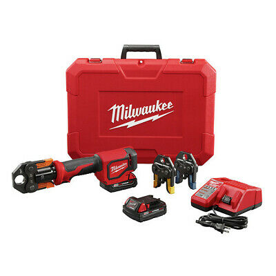 Milwaukee M18 18V 3Ah Short Throw Press Tool Kit w/Viega Jaws 2674-22P new