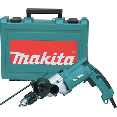 Makita HP2050 3/4 in. 6.6 Amp 2-Speed Lightweight Hammer Drill with Case New