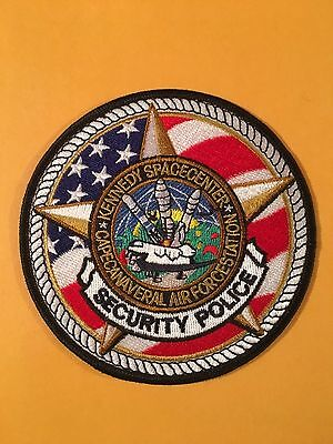 Kennedy Spacecenter  Police  Shoulder Patch