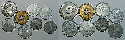 Japan : 8 Old Coins