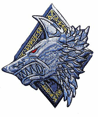 Lone Wolf Space Wolves Marines IRON ON Patch