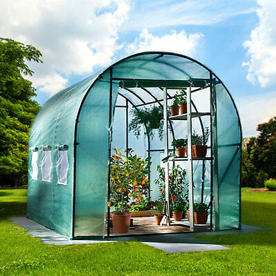 6m² Greenhouse with Steel base Garden greenhouse Tomato greenhouse Plant house °