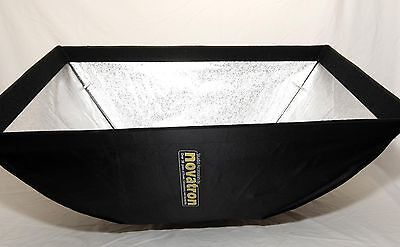 "New Novatron 36"" x 24"" Softbox With Speed Ring For Photo Studio Strobe Lighting"