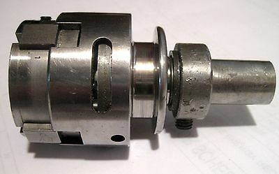 "H & G Threading Die Head, Style MM, Size 00, Used. H&G, 3/4"" dia shank"