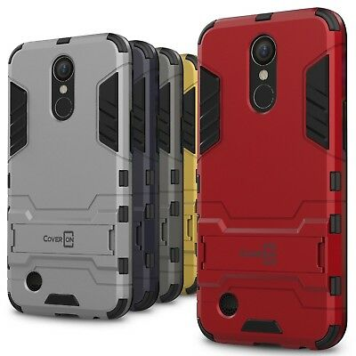CoverON for LG K20 Plus / K20 V / K20V Case Hybrid Stand Armor Phone Cover