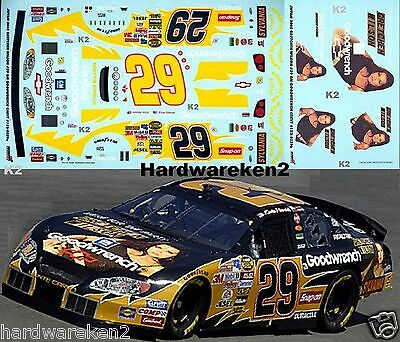 Nascar Decal #29 Gretchen Wilson Goodwrench 2005 Monte Carlo Kevin Harvick Jwtbm
