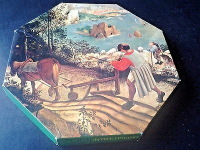 700 Piece Interlocking Milton Bradley Devon Jigsaw Puzzle COMPLETE 1966