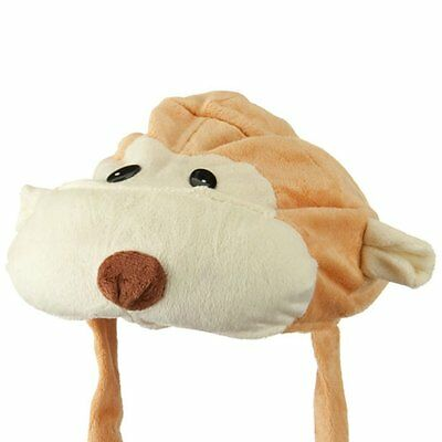 Kids Fluffy Animal Hat - Monkey W21S17F