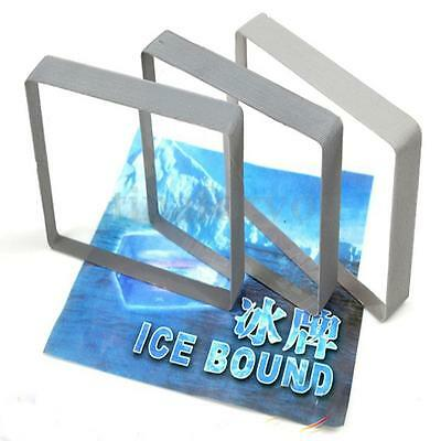 Crystal Ice Block Glass Omni Deck Playing Cards Close-Up Magic Tricks Party Show