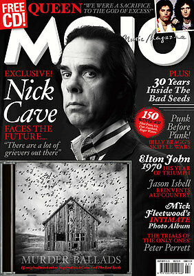 MOJO Nick Cave - Issue # 284 / July 2017 (NEW MAGAZINE & CD)