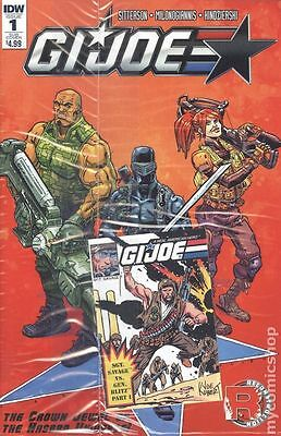 GI Joe (2016 IDW) #1SUB A Cover - Bagged with Mini Card - Unopened