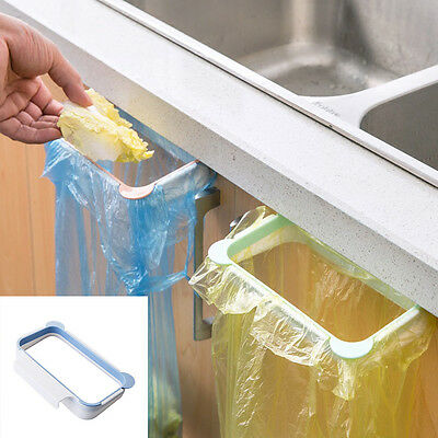 Useful Hanging Garbage Rubbish Waste Bag Kitchen Carrier Bag Hanger Holder
