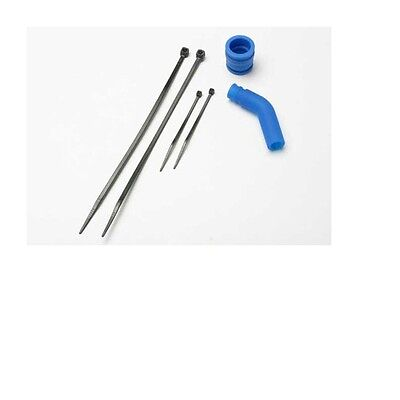 Traxxas Pipe Coupler, Moulded (Blue) #5245