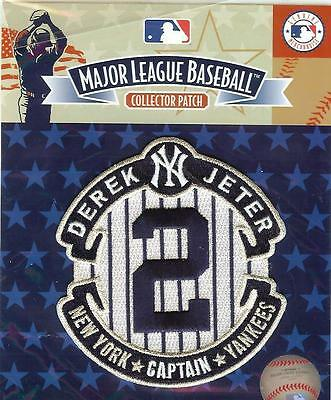 Derek Jeter Retirement Sleeve Patch Official MLB Packaged New York Yankees #2
