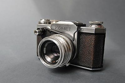 Vintage,Very Rare ,, Wirgin: KOMET ,,Photocamera,Produced in Germany - 1953