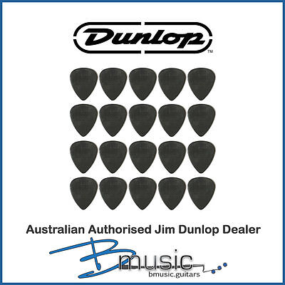 20 x Jim Dunlop 1.0mm Max-Grip™ Nylon Standard Plectrums