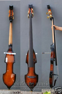 3/4 upright double bass electric Powerful Sound Rosewood Solid wood