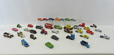 Collection Of 36 Various Branded Diecast Model Cars & Trucks