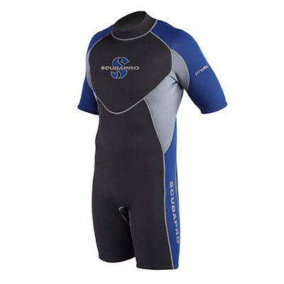 Scubapro Profile Mens Shorty Wetsuit 2.5mm Diving Snorkelling Surfing Warm Water