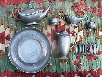 A Collection Of Tudric Pewter Ware  Archibald Knox ?