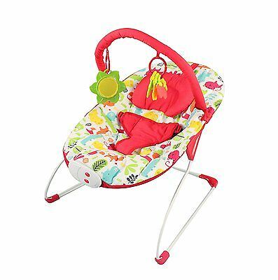 NEW Red Kite Cozy Bounce Safari Baby Bouncer