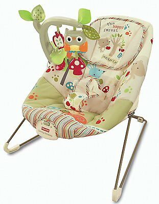 NEW Fisher-Price Woodsy Friends Baby Bouncer