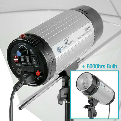 300W Photography Studio Softbox Strobe Photo Flash Video Light Kit【US】