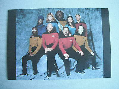 Star Trek : The Next Generation Postcard Printed In The U.s.a Issued In 1991 New