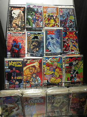 Kochcomics X-MEN Spinoff Titles Lot of 110 WYSIWYG Liefeld X-FORCE 1990s-00s SWB