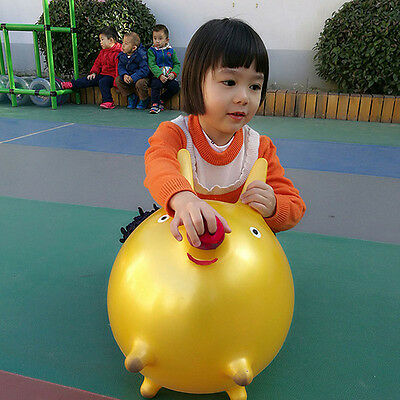 New Kids Toys Inflatable Pig Children Toddler Space Hopper Outdoor Activity Toy