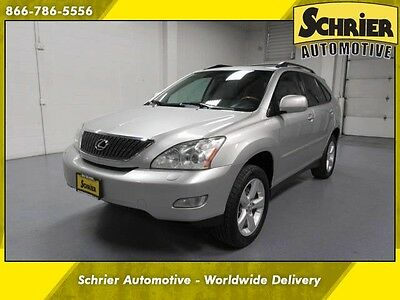 2004 Lexus RX  04 Lexus RX330 AWD Silver Heated Seats Cargo Cover 6 Disc CD Changer