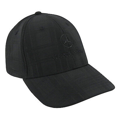 Mercedes-Benz Patterned Structured Baseball Cap