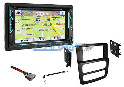"""NEW 6.2/"""" SOUNDSTREAM STEREO RADIO WITH NAVIGATION /& BLUETOOTH WITH INSTALL KIT"""