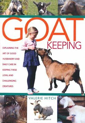 Goat Keeping by John Clarke Hardback Book The Cheap Fast Free Post