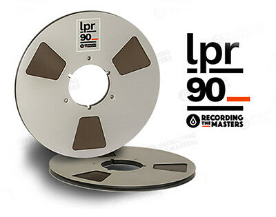 "Lpr90 Rtm Pyral Rmg Rmgi Tape Reel To Reel 1/4"" X 3600' 10.5"" Metal Reel New"