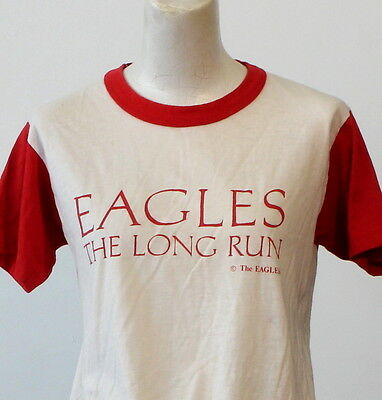 vintage 1979 THE EAGLES the long run T SHIRT small ROCK concert tour 70s