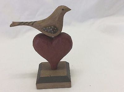A. Kohr Allan Kohr Carved and Painted Folk Art Bird