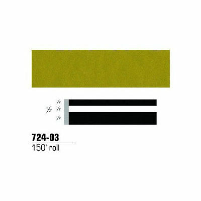 3M Scotchcal Striping Tape, Gold Metallic, 1/2 in. x 150 ft. 72403 new