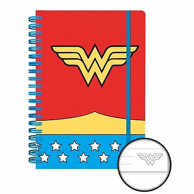 Officially Licensed DC Comics Wonder Woman Costume A5 Notebook